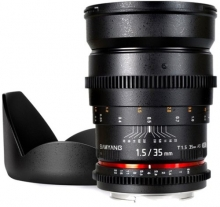 Samyang 35mm T1.5 V-DSLR Angular Canon*