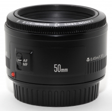 Canon EF-S 50mm f/1.8