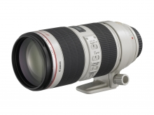 Canon EF 70-200 mm. f/2,8. Serie L. IS